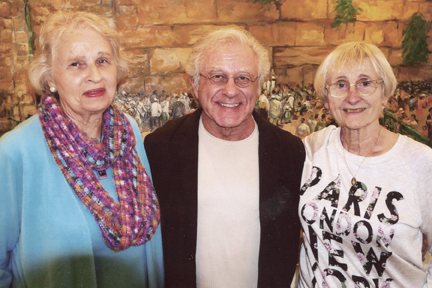 Miriam McClung, Tom Dameron and Maud Belser